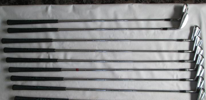 Set de 9 palos antiguos de golf ben hogan, ver fotos.