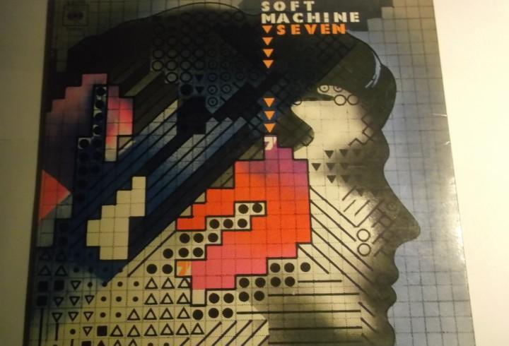 Soft machine seven-primera edicion española 1973-portada