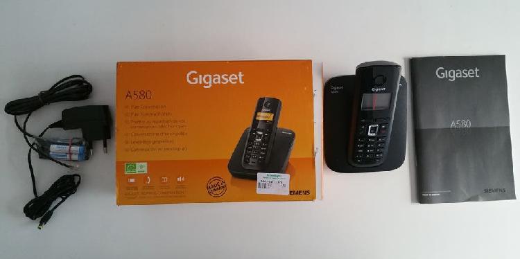 Telefono inalambrico siemens gigaset 580