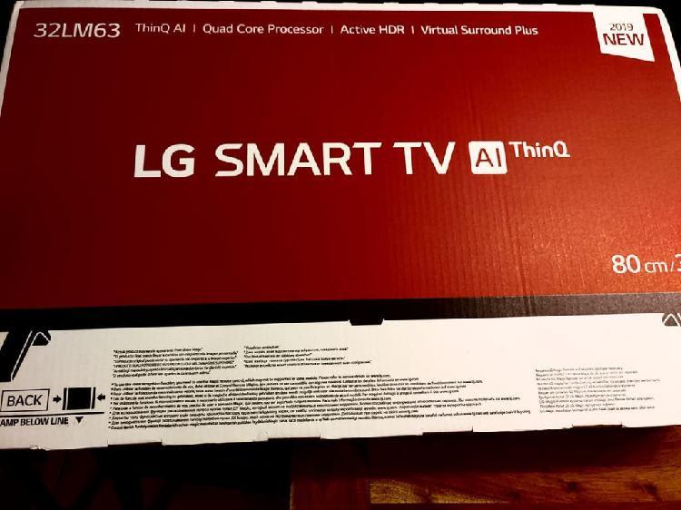 Televisión lg smart tv