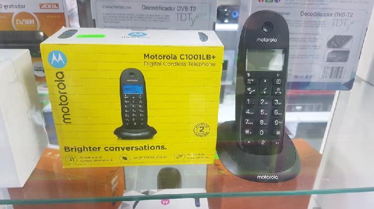 Telefonía fija motorola c1001lb+