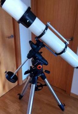 Telescopio refractor 150/1200 y goto