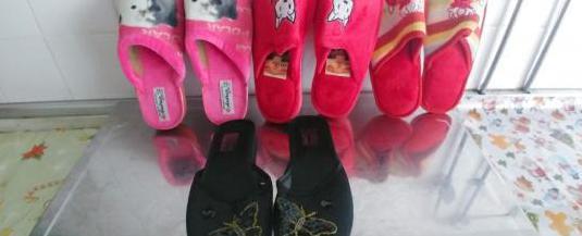 Zapatillas,lote de 4 pares nuevas,numero 37
