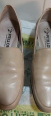 Zapatos pitillos nº 39 color crema