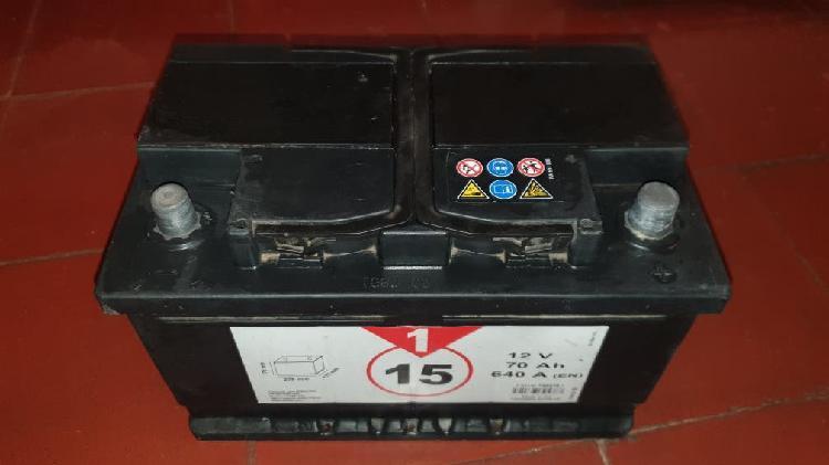 Bateria coche 70 ah amperios