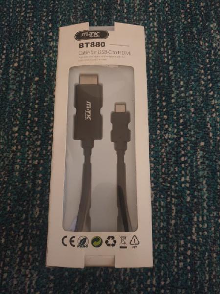 Cable usb a hdmi 4k nuevo