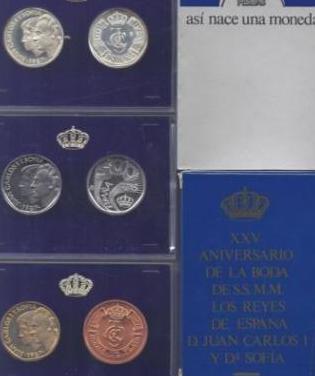 Estuche monedas de 500 pesetas