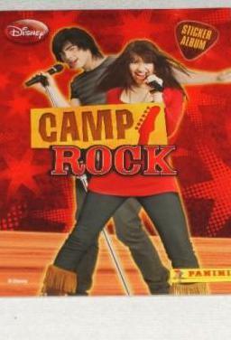 Lbum cromos camp rock