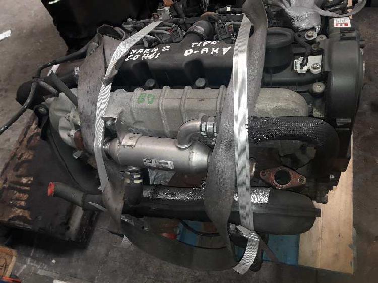 Motor completo peugeot 306 2.0hdi 90cv ref rhy