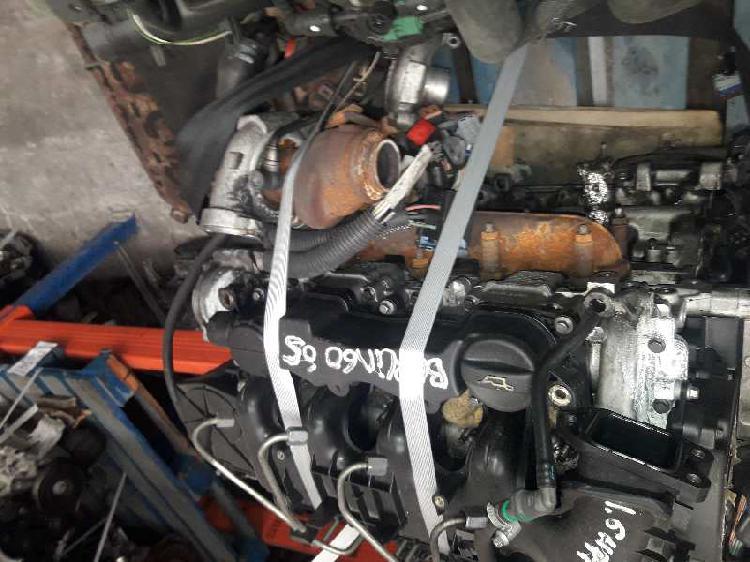 Motor revisado peugeot partner 1.6hdi 90cv ref 9h