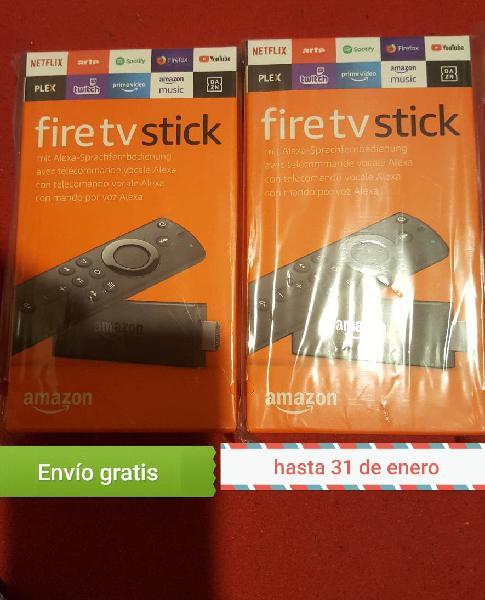 Sellado garantizado fire tv stick con alexa basic