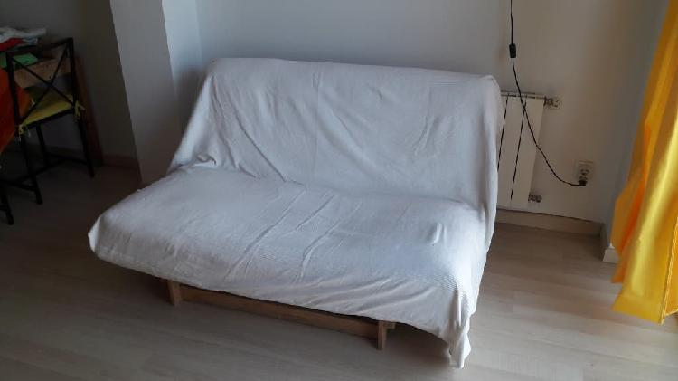Sofá cama - colchón futón con base/somier