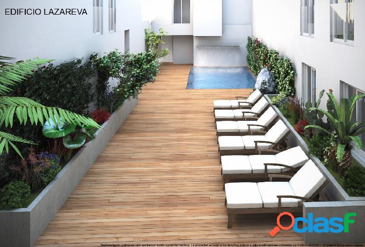Apartamento de 3 dormitorios con piscina comunitaria, a 70m de la playa del cura - torrevieja