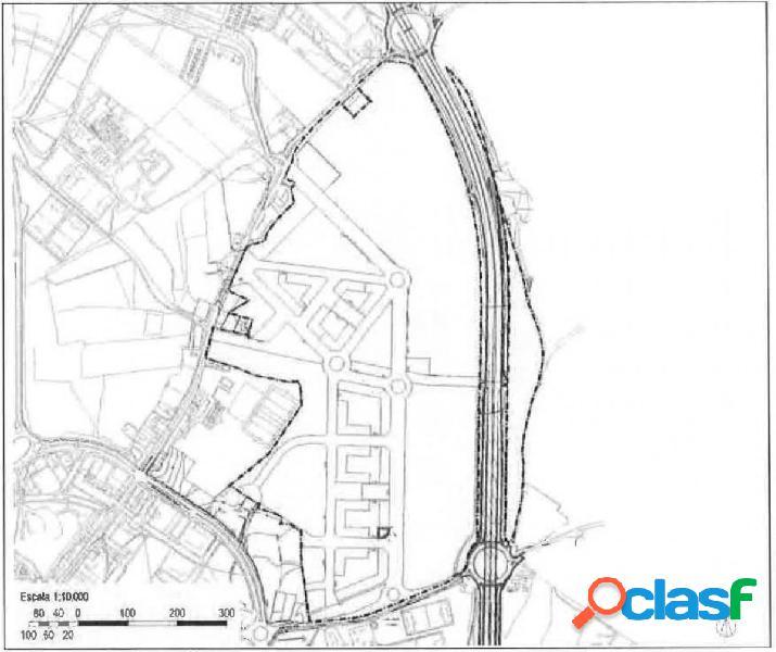 "Terreno urbanizable de 340 metros en sector ""la serna-la granja""."