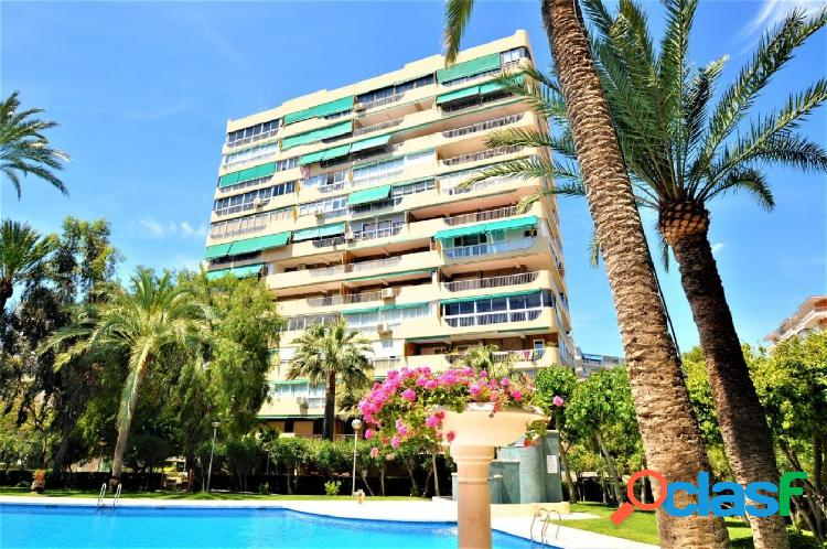 Piso con gran terraza en Playa de San Juan Alicante
