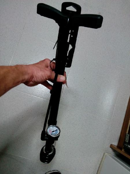 Bomba de aire xl (nueva) para inchar las ruedas d