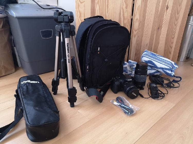 Canon eos 550d kit completo