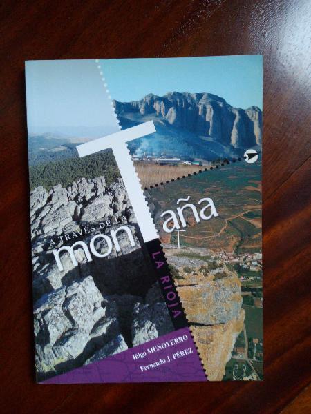 Libro a traves de la montaña la rioja