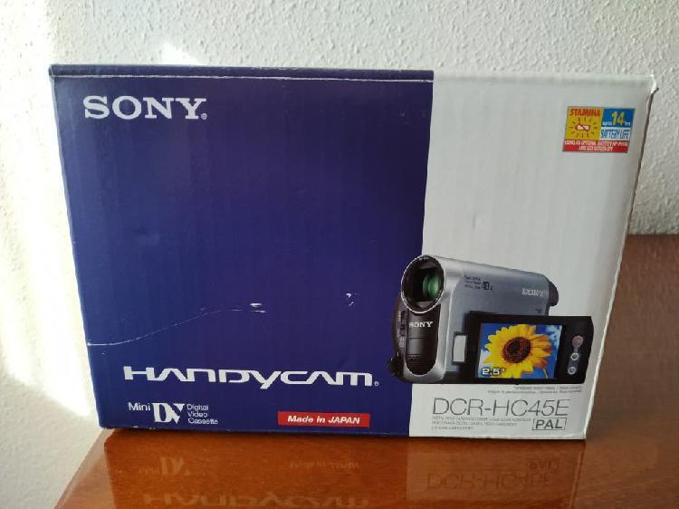 Mini cámara vídeo sony