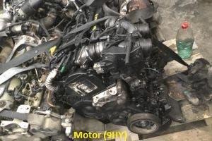 Motor peugeot 297 1.6hdi motor 9hy