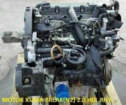 Motor xsara break(n2) 2.0 hdi .rhy.