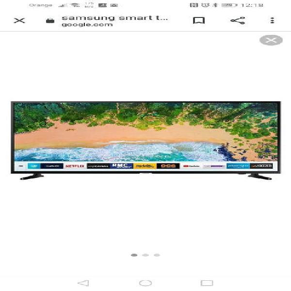 "Nueva!!!! samsung smart tv 65 "" led 4k"