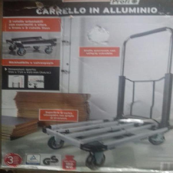 Plataforma we transporte se aluminio inoxidable