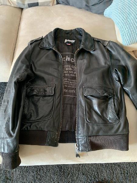 Schott chaqueta cuero