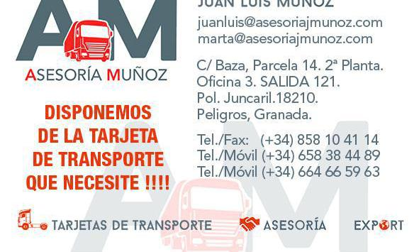 Tarjetas de transporte