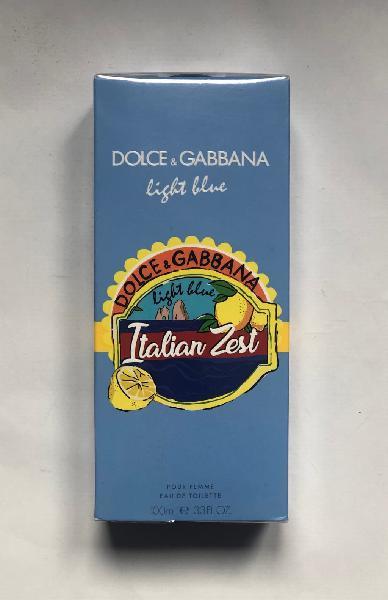 Vendo light blue italian zest dolce gabbana 100ml