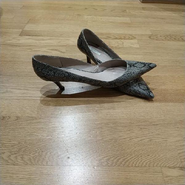 Zapatos de piel animal print nuevos talla 40