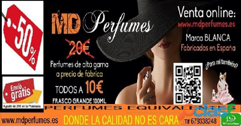 Perfume Mujer Equivalente altas gama Nº438 AGUA FRIA DE ROSA BLANQUITAS 10€ 100ml 1