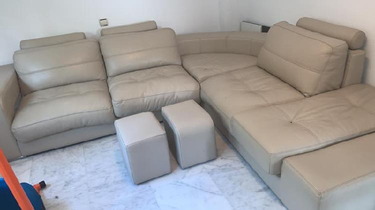 Sofa de piel de alta gama