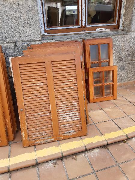 Ventanas y contraventanas de madera