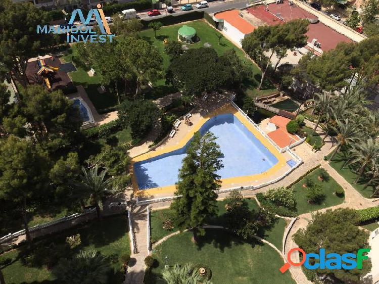 Estudio en zona rincón de loix. cocina, salón amplio, reformado. luminoso. parking y piscina comunit