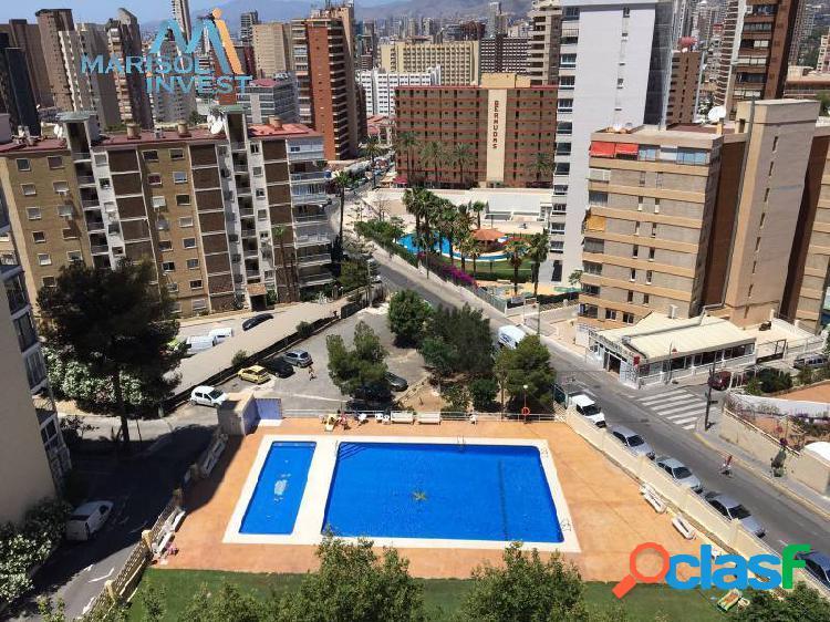 Apartamento zona rincón de loix.1dorm,1baño,cocina, salón con terraza.parking y piscina comunitaria
