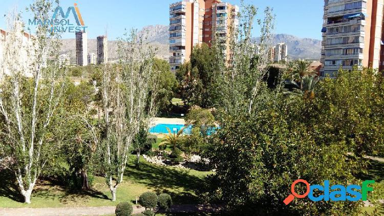 Apartamento poniente.2dorms,2baños,cocina y salón con gran terraza.parking y piscina comunitaria