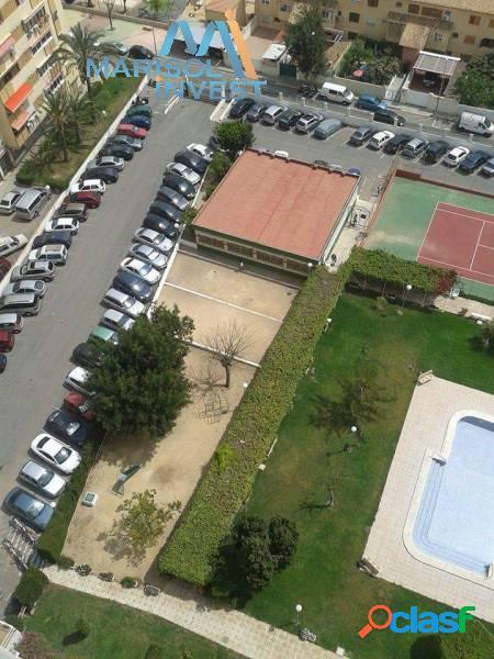 Apartamento zona juzgados.2dorms,1baño,salón espacioso.piscina y parking comunitario.