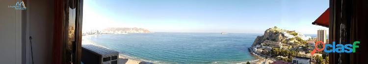 Estudio en poniente para entrar a vivir, amplio con vistas al mar. parking y piscina.