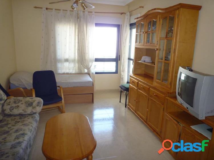 Apartamento en la cala de finestrat. 1dorm, 1 baño,cocina, salón con terraza. parking,vistas al mar