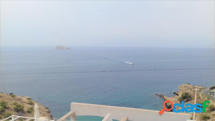 Semi new duplex with sea view
