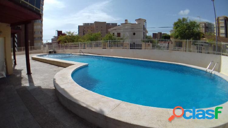 Oportunidad economico apartamento 1 dormitorio con piscina en poniente