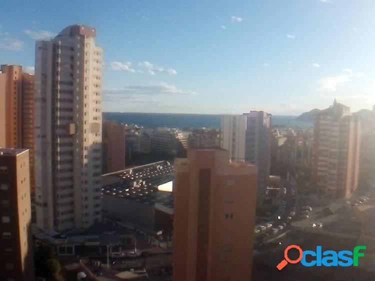 2 dormitorios con piscina y vistas al mar en excelente zona