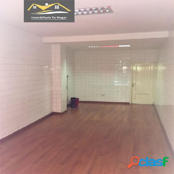 Se alquila local comercial de 40 m2 en el centro de ourense. ref. 01025
