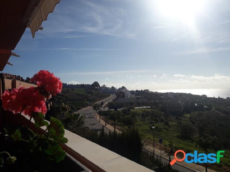 Apartamento en conjunto residencial cerrado, vistas espectaculares al mar, sol todo el dia (sur)