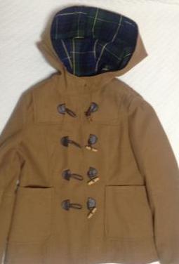 Abrigo mujer marrón zara