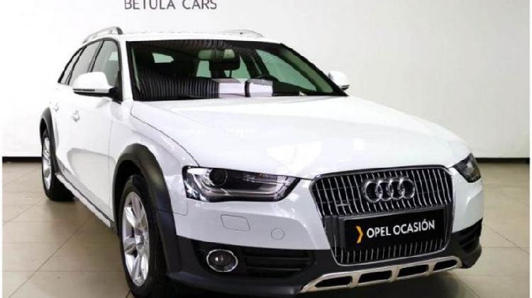 Audi a4 allroad 2.0 tdi clean d 190 s tron quat advanced