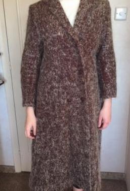 Abrigo de lana bouclette de marca jl scherrer
