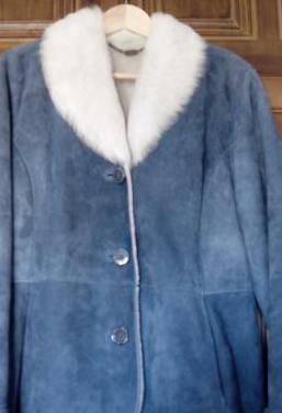 Abrigo de piel de xabier pell