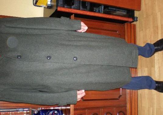 Abrigo largo caballero loden, talla 52